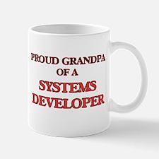 Proud Grandpa of a Systems Developer Mugs