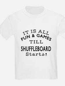 Shuffleboard Fun And Games Desi T-Shirt