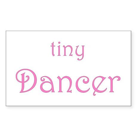 Tiny Dancer Rectangle Sticker