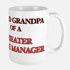 Proud Grandpa of a Theater Stage Manager Mugs