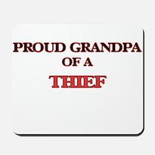 Proud Grandpa of a Thief Mousepad