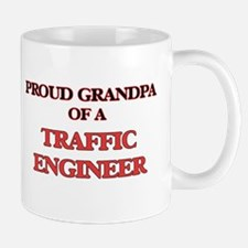 Proud Grandpa of a Traffic Engineer Mugs