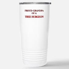 Proud Grandpa of a Tree Travel Mug