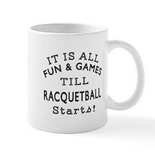 Racqetball Fun And Games Designs Mug