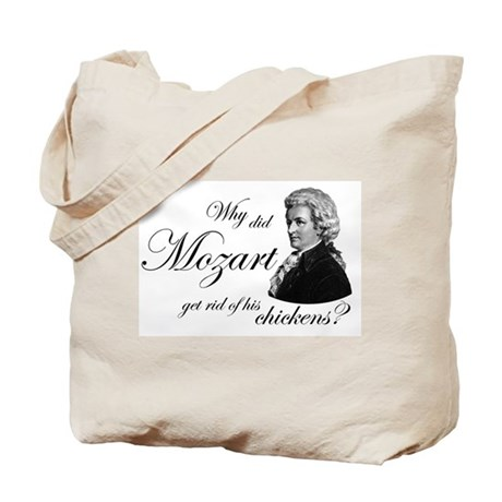 Mozart's Chickens Tote Bag