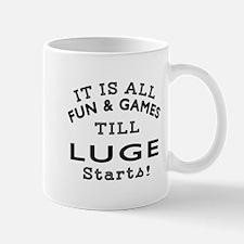 Luge Fun And Games Designs Mug