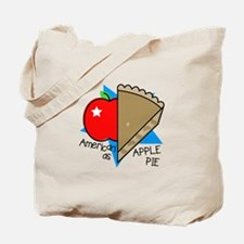American Apple Pie Tote Bag