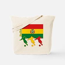 Bolivia Soccer Tote Bag