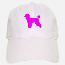 Poodle Pink 2 Baseball Baseball Baseball Cap