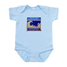 Tsunami Warning Sign Infant Creeper