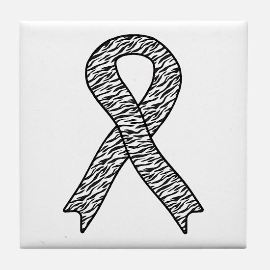 EDS Ribbon Tile Coaster