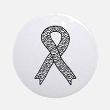 EDS Ribbon Ornament (Round)