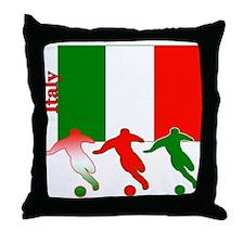 Italy Soccer Throw Pillow