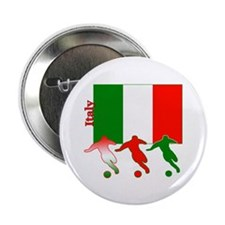"Italy Soccer 2.25"" Button (100 pack)"