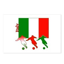 Italy Soccer Postcards (Package of 8)