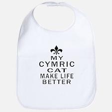 Cymric Cat Make Life Better Bib