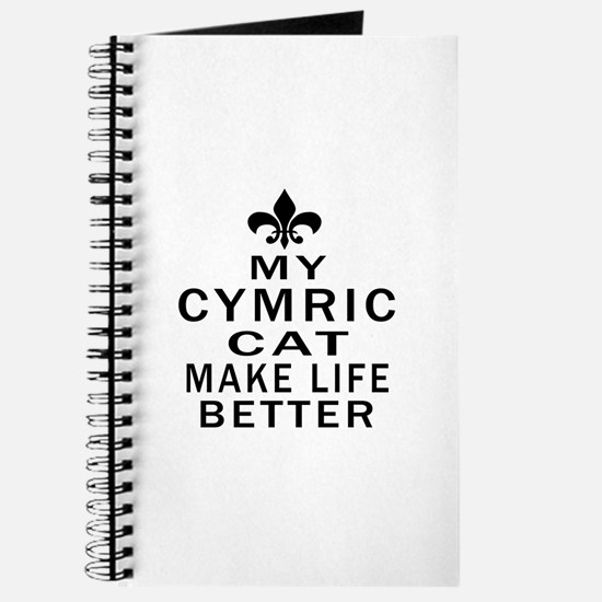 Cymric Cat Make Life Better Journal