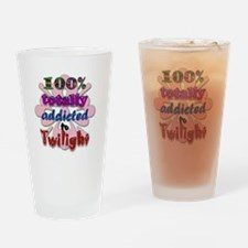 Totally addicted! Drinking Glass