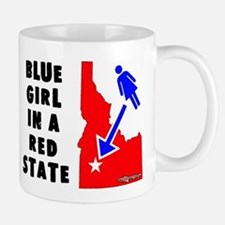 OddWaffles.com Blue Girl i Mugs