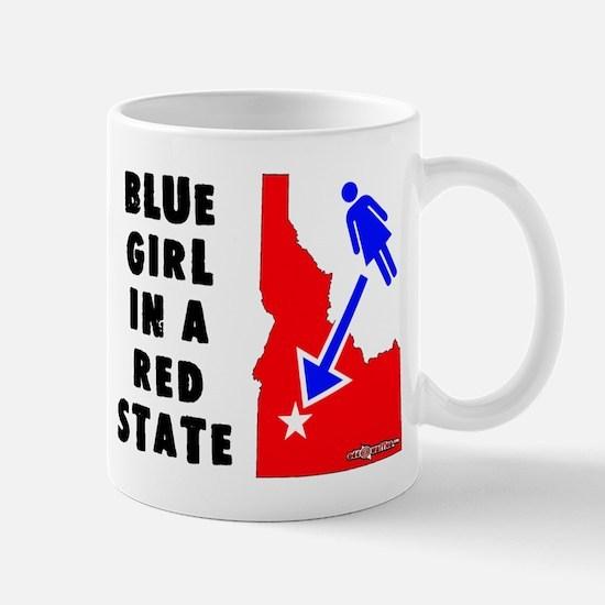 OddWaffles.com Blue Girl i Mugs