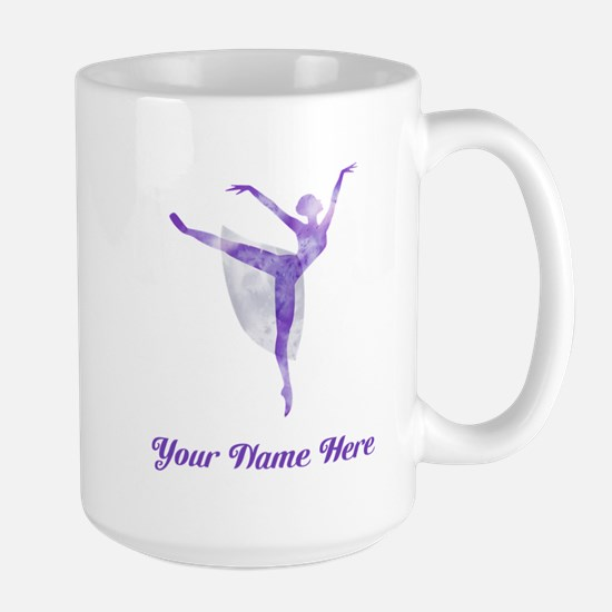 Personalized Ballet Large Mug