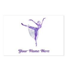 Personalized Ballet Postcards (Package of 8)