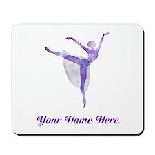 Personalized Ballet Mousepad