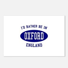 I'd Rather Be in Oxford, Engl Postcards (Package o