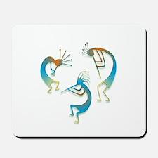 Three Kokopelli #14 Mousepad