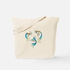 Three Kokopelli #14 Tote Bag