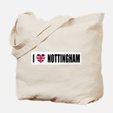 I Love Nottingham Tote Bag