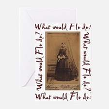 What would Flo Do? Greeting Cards