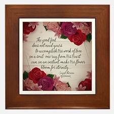 Bloom for Eternity Framed Tile