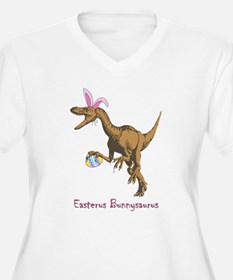 easter dinosaur Plus Size T-Shirt