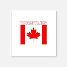 Whistler, British Columbia Rectangle Sticker