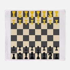 Chessboard Throw Blanket