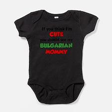 Cute Bulgaria Baby Bodysuit