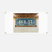 Lincoln Center Subway Station Banner