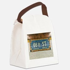 Lincoln Center Subway Station Canvas Lunch Bag