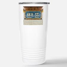 Lincoln Center Subway Station Travel Mug
