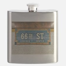 Lincoln Center Subway Station Flask