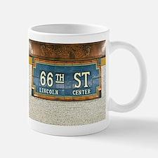 Lincoln Center Subway Station Mugs