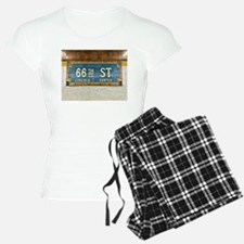 Lincoln Center Subway Station Pajamas