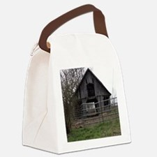Old Weathered Farm Barn Canvas Lunch Bag
