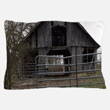 Old Weathered Farm Barn Pillow Case