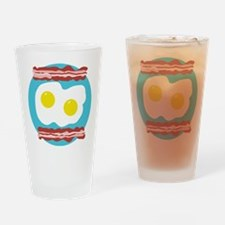 Bacon and Eggs Drinking Glass