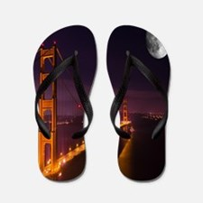 Funny San francisco Flip Flops