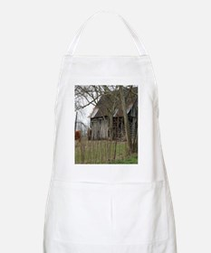 antique barn And Cows Apron