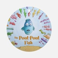 Pout-Pout Fish Ornament (Round)