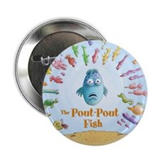 Pout-Pout Fish Button